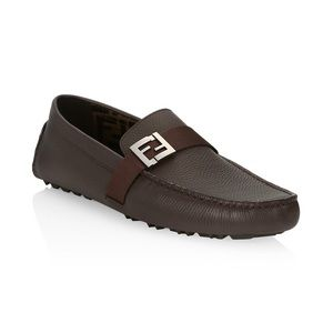 Fendi Mens Drivers Moccasins shoes